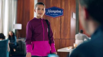 Hampton Inn & Suites TV Spot, 'Flag Dancing' Song by Len - Thumbnail 2