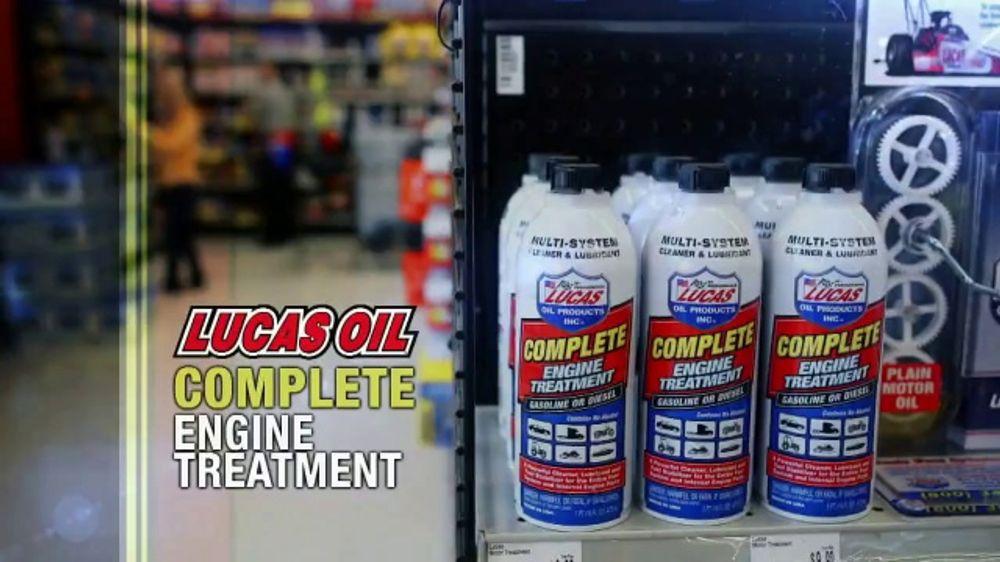 Lucas Oil Complete Engine Treatment TV Commercial, 'Efficient Fuel Burn'