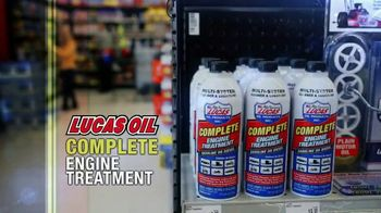 Lucas Oil Complete Engine Treatment TV Spot, 'Efficient Fuel Burn'