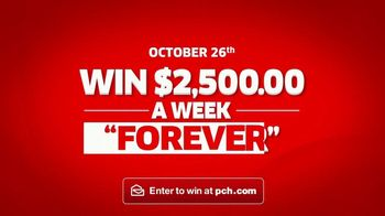 Publishers Clearing House TV Spot, '$2,500 a Week Forever' - Thumbnail 8