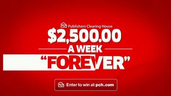 Publishers Clearing House TV Spot, '$2,500 a Week Forever'