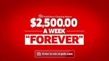 Publishers Clearing House TV Spot, '$2,500 a Week Forever' - Thumbnail 3