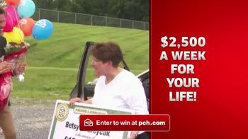 Publishers Clearing House TV Spot, '$2,500 a Week Forever' - Thumbnail 4