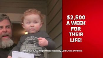 Publishers Clearing House TV Spot, '$2,500 a Week Forever' - Thumbnail 5
