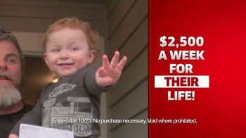 Publishers Clearing House TV Spot, '$2,500 a Week Forever' - Thumbnail 6