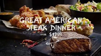 Longhorn Steakhouse Great American Steak Dinner TV Spot, \'Special\'