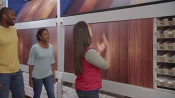 Lowe's Labor Day Savings TV Spot, 'The Moment: Old Carpet: Pergo' - Thumbnail 6