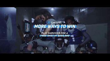FanDuel Survivor TV Spot, 'Moreways & Win: Free Stuff' - Thumbnail 10