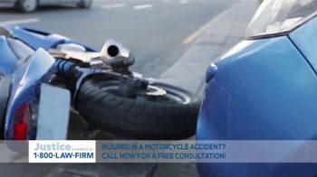 1-800-LAW-FIRM TV Spot, 'Motorcycle Accident' - Thumbnail 1
