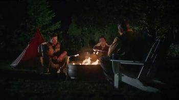 PlayStation Vue TV Spot, 'ESPN: Camping' - Thumbnail 1