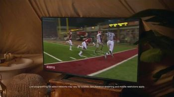 PlayStation Vue TV Spot, 'ESPN: Camping' - Thumbnail 7