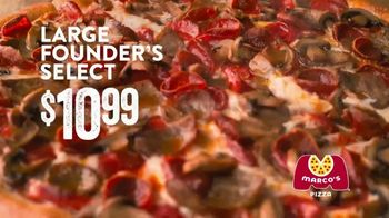 Marco's Pizza Founder's Select Pizza TV Spot, 'Quality Time' - Thumbnail 9
