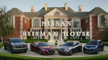 Nissan TV Spot, 'Heisman House: Sandwich' Ft Baker Mayfield, Marcus Mariota [T1] - Thumbnail 1
