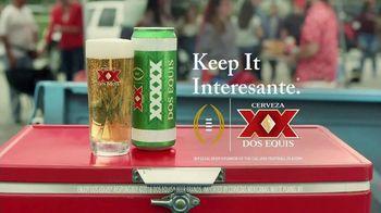 Dos Equis TV Spot, 'Keep It Interesante: Delicioso' Featuring Les Miles - Thumbnail 10