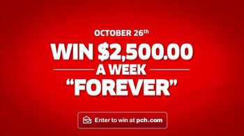 Publishers Clearing House TV Spot, '$2,500 a Week Forever: What's Better?'' - Thumbnail 10
