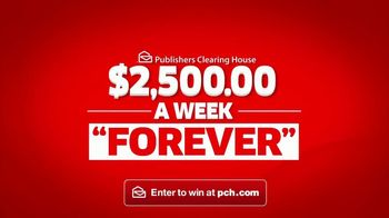 Publishers Clearing House TV Spot, '$2,500 a Week Forever: What's Better?'' - Thumbnail 5