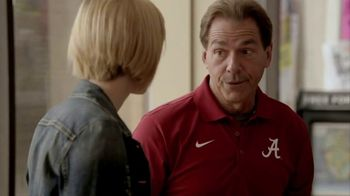Regions Bank TV Spot, \'The Voice of Reason With Coach Saban\'