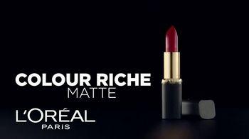 L'Oreal Paris Colour Riche Matte TV Spot, 'Adictivo' [Spanish] - 459 commercial airings