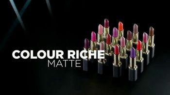 L'Oreal Paris Colour Riche Matte TV Spot, 'Adictivo' [Spanish] - Thumbnail 9
