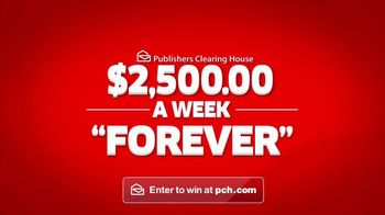 Publishers Clearing House TV Spot, '$2,500 a Week Forever: Shared Winnings' - 674 commercial airings