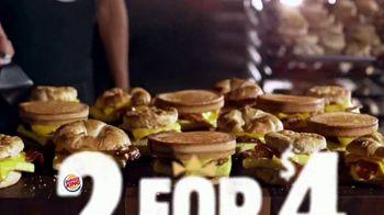 Burger King 2 for $4 Mix or Match TV Spot, 'Breakfast: Sourdough King' - Thumbnail 2