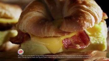Burger King 2 for $4 Mix or Match TV Spot, 'Breakfast: Sourdough King' - Thumbnail 6