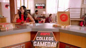 Pizza Hut TV Spot, 'ESPN: T-Shirt Cannon' - Thumbnail 1