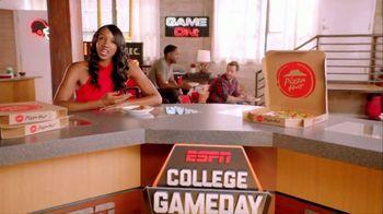 Pizza Hut TV Spot, 'ESPN: T-Shirt Cannon' - Thumbnail 2