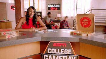 Pizza Hut TV Spot, 'ESPN: T-Shirt Cannon' - Thumbnail 3