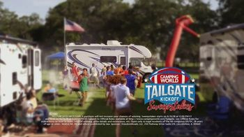 Camping World Tailgate Kickoff Sweepstakes TV Spot, 'Calling Your Name' - Thumbnail 10