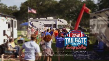Camping World Tailgate Kickoff Sweepstakes TV Spot, 'Calling Your Name' - Thumbnail 9