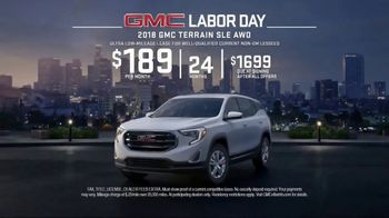 GMC Labor Day TV Spot, 'Like a Pro: Anthem' [T2] - Thumbnail 8