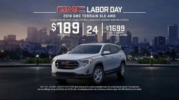 GMC Labor Day TV Spot, 'Like a Pro: Anthem' [T2]