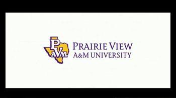 Prairie View A&M University TV Spot, 'Ignite Your Passion' - Thumbnail 6