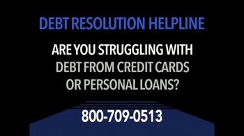 Debt Resolution Helpline TV Spot, 'Struggling With Debt?' - Thumbnail 1