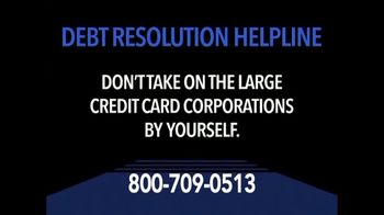 Debt Resolution Helpline TV Spot, 'Struggling With Debt?'