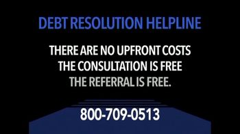 Debt Resolution Helpline TV Spot, 'Struggling With Debt?' - Thumbnail 4
