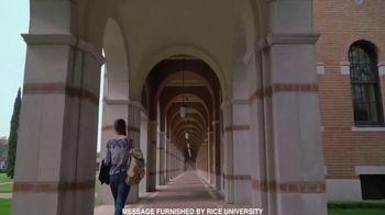 Rice University TV Spot, 'What Makes Us Unique?' - Thumbnail 8