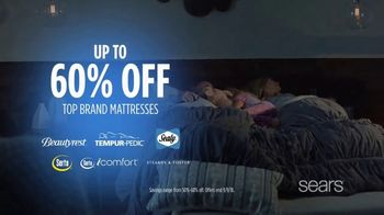 Sears Labor Day Event TV Spot, 'A Good Night's Sleep' - Thumbnail 8