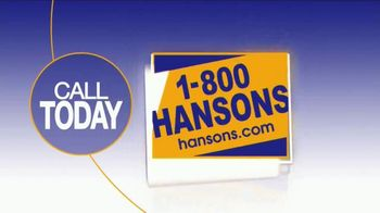 1-800-HANSONS Summer Fix Up Sale TV Spot, 'Windows, Siding and Roofing' - Thumbnail 6