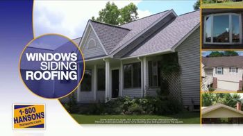 1-800-HANSONS Summer Fix Up Sale TV Spot, 'Windows, Siding and Roofing' - Thumbnail 5