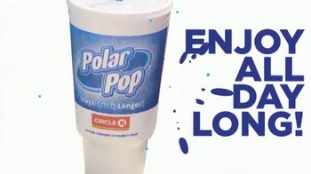 Circle K Polar Pop Cup TV Spot, 'Stays Cold Longer'