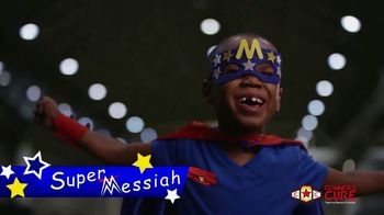 The V Foundation for Cancer Research TV Spot, 'Meet Super Messiah'