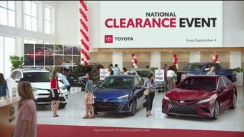 Toyota National Clearance Event TV Spot, 'Outtakes' [T2] - Thumbnail 1