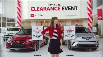 Toyota National Clearance Event TV Spot, 'Outtakes' [T2] - Thumbnail 8