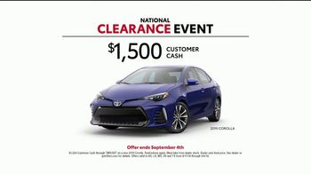 Toyota National Clearance Event TV Spot, 'Outtakes' [T2] - Thumbnail 7