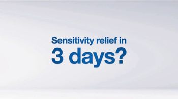 Sensodyne Rapid Relief TV Spot, 'Relieve Sensitive Teeth in 3 Days' - Thumbnail 1