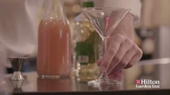 Hilton Garden Inn TV Spot, 'Winning Cocktail: Cherry Blossom' - Thumbnail 7