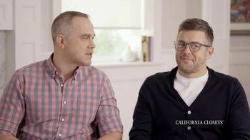 California Closets TV Spot, 'Jamie and Brad's Story' - Thumbnail 8