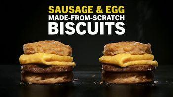 Carl's Jr. Sausage & Egg Biscuit TV Spot, 'Amazing Time' - Thumbnail 2